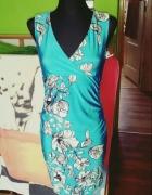 sukienka blyszczaca s m nowa