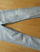 H&M dżinsowe spodnie rurki