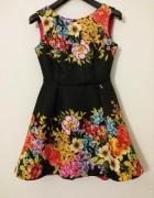 Sukienka Kwiaty MOTIVE & MORE r XS