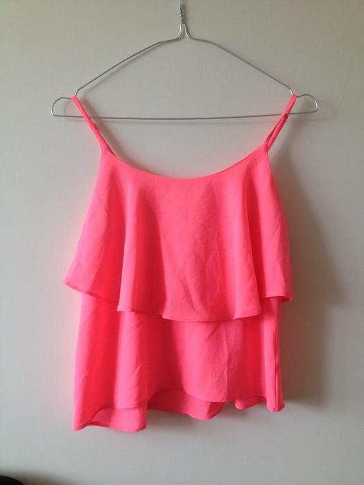 Letnia bluzeczka neon
