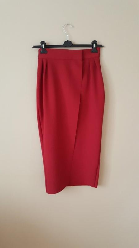 Spódnice bordowa spódnica