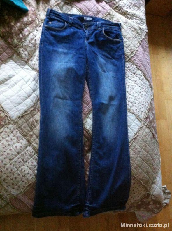 Spodnie Szerokie jeansy Promod 42