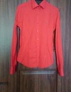 Pomarańczowa koszula