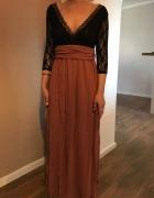 Śliczna sukienka maxi