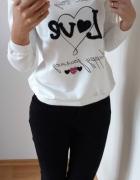 Piękna bluza Love rozm s m l