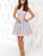 Sukienka rozkloszowana na wesele...
