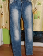 Modne spodnie RESERVED jeansy cena do negocjacji