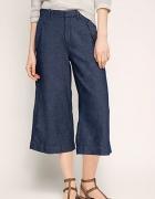 Spodnie CULOTTES jeansowe L