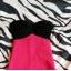 Bandażowa sexi sukienka tally weijl neon czerń róż