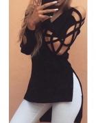 Modna asymetrycna bluzka