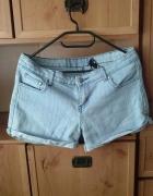 Spodenki krótkie jasny jeans