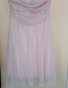 Dziewczęca zwiewna sukienka BERSHKA 34 XS