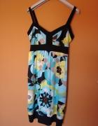 Nowa Sukienka Debenhams w kwiaty floral XL 44