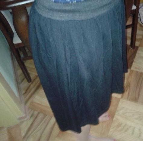 Spódnice Asymetryczna czarna spódnica
