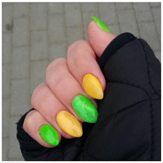 Paznokcie Wiosenne paznokcie