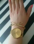zegarek calvin klein zloty duża tarcza