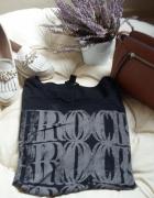 czarna bluzeczka rock