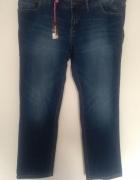 proste jeansy