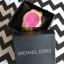 złoty zegarek MK kors z różową tarczą Nowy