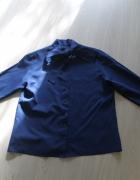 granatowa koszula oversize