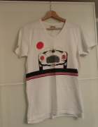 Biały Tshirt Ferrari Gear