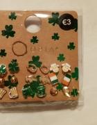 Zestaw wkrętów kolczyków irlandzkich symboli...