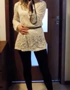 Sweter koronkowy Promod