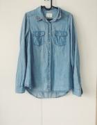 jeansowa koszula pull&bear 38 M