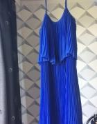 Kobaltowa sukienka Cubus