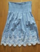 Piękna sukienka haft jak zara