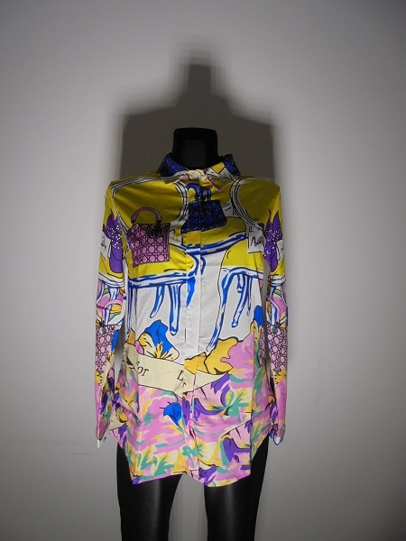Bluzki bluzka koszulowa Dior