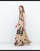 sukienka maxi zara