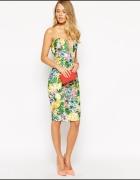 Ginger Fizz tropikalna sukienka