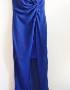 Piękna kobaltowa sukienka Asos