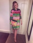 Cekinowa&kolorowa sukienka...
