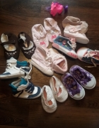Trampki buciki dla dziewczynki rozmiar 18 i19