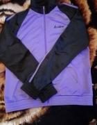 czarno fioletowa bluza