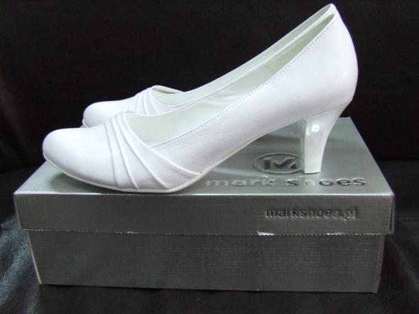 c117fdd1fd5e0 Nowe białe buty ślubne obcas 5 cm r 41 w Buty ślubne - Szafa.pl