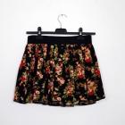 Rozkloszowana spódnica folk kwiaty góralska XS S M