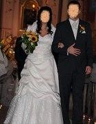 Suknia ślubna w roz 42