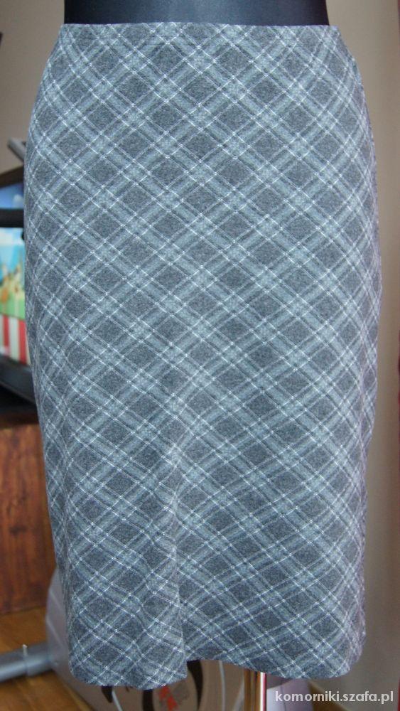 Spódnice Dzianinowa grubsza spódnica w roz 40