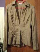 Brązowa koszula z długim rękawem Orsay M
