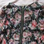 Affair koszula z szyfonu kwiaty zamek S