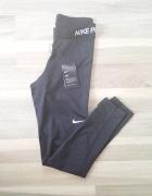 legginsy sportowe czarne Nike Pro M
