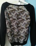Czarny sweter z ozdabianym tyłem