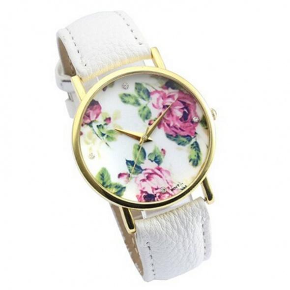 floral kwiatowy biały nowy