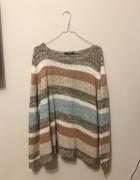 sweterek paski 38 40...