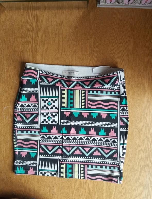 Spódnice Spodnica bershka aztec cudo