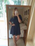 Sukienka w groszki Zara M