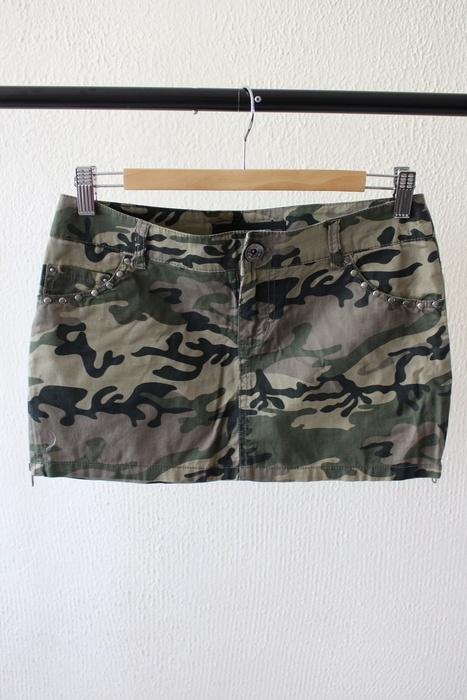 Spódnice nowa spódniczka mini moro